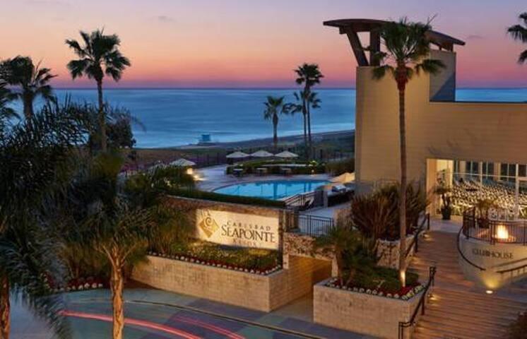 Resort 1 Bd/1ba Suite @ Seapointe + Tennis