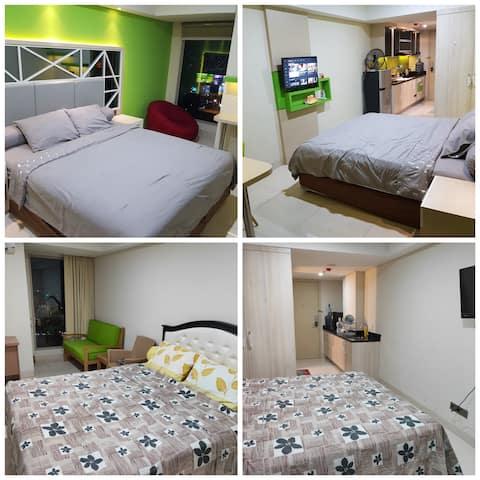 2BR Louis Kienne Simpang 5 WR Apartment Semarang