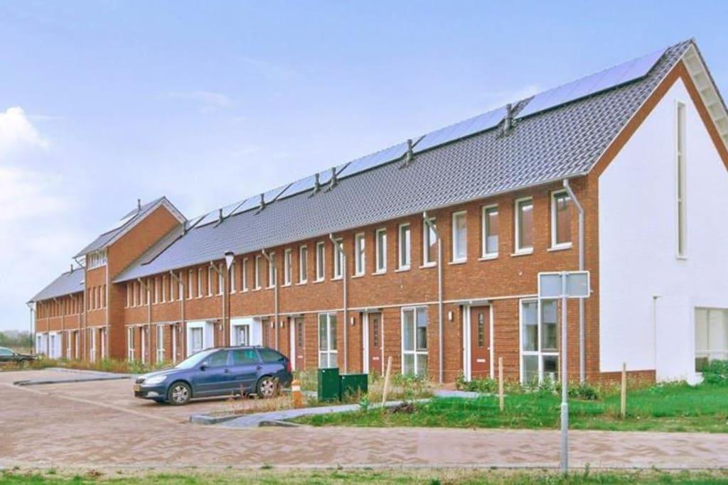 Mooi huis in wageningen huizen te huur in wageningen for Te huur in gelderland