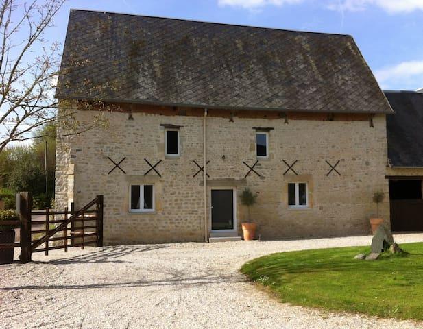 Maison ancienne rénovée tout confort - Isigny-sur-Mer - Rumah
