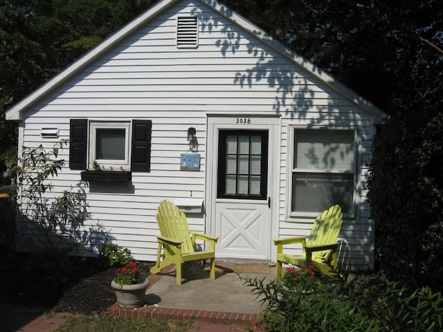 Rehoboth Beach Cottage 2 blocks to beach, - Rehoboth Beach - Casa