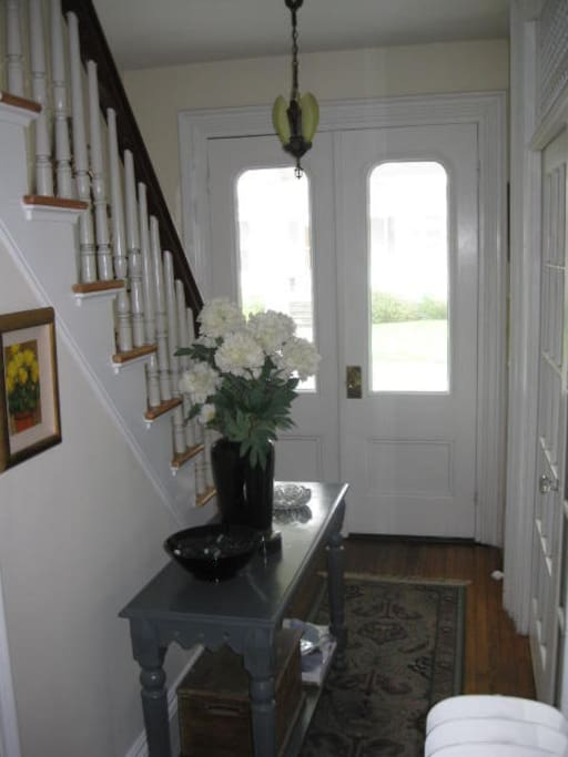 Front stair hall