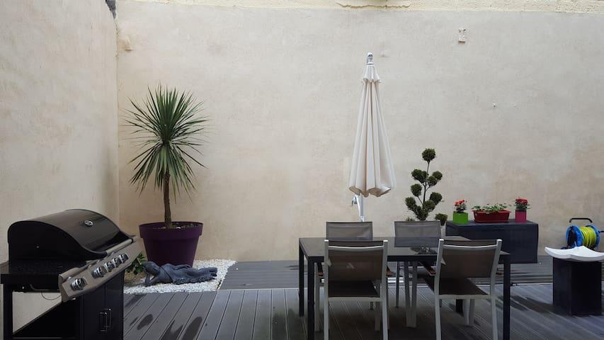 Appartement avec terrasse et patios - Saint-Étienne - Appartamento