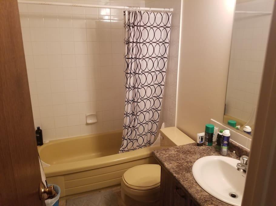 Shared washroom