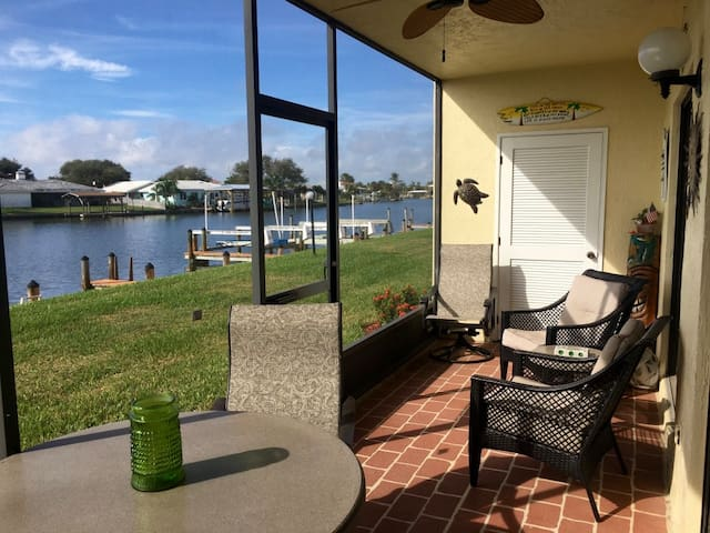 Cocoa Beach snowbird waterfront condo