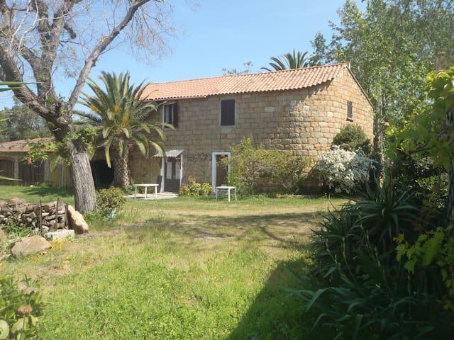Maison mitoyenne avec jardin - Belvédère-Campomoro - House
