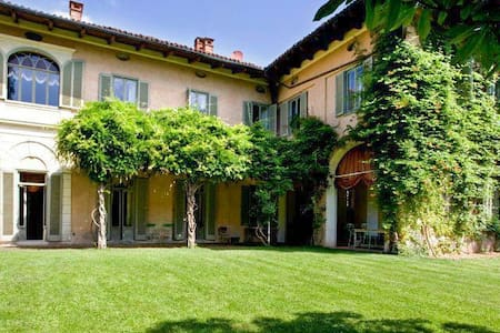 Historical Villa 1 hour from Milan - Quaregna - Villa