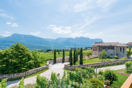 Apartment with 2 bedrooms on the Wein Route - Termeno sulla Strada del Vino - アパート