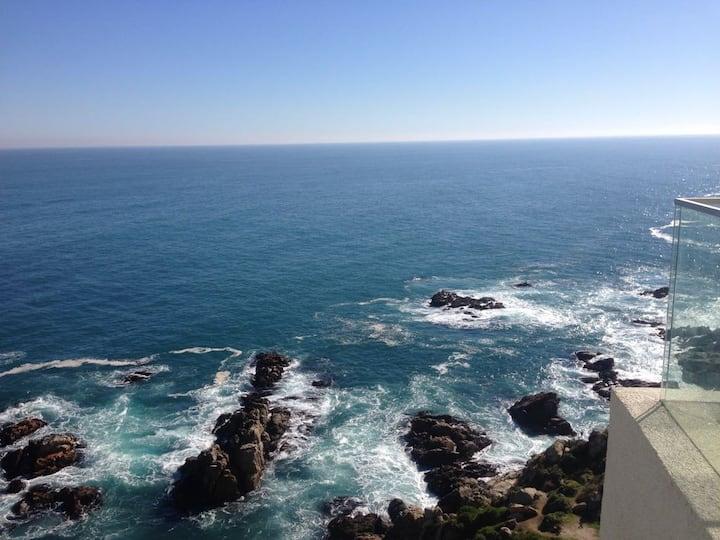 Departamento Amoblado vista al mar