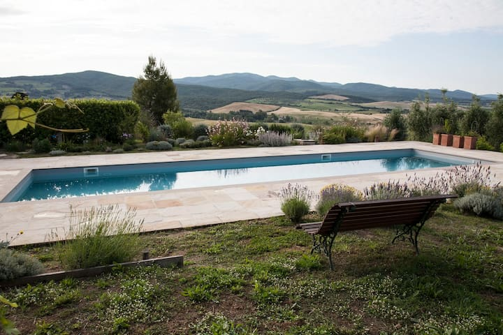 Tuscany: amazing view! B&B - Casale Marittimo - Bed & Breakfast