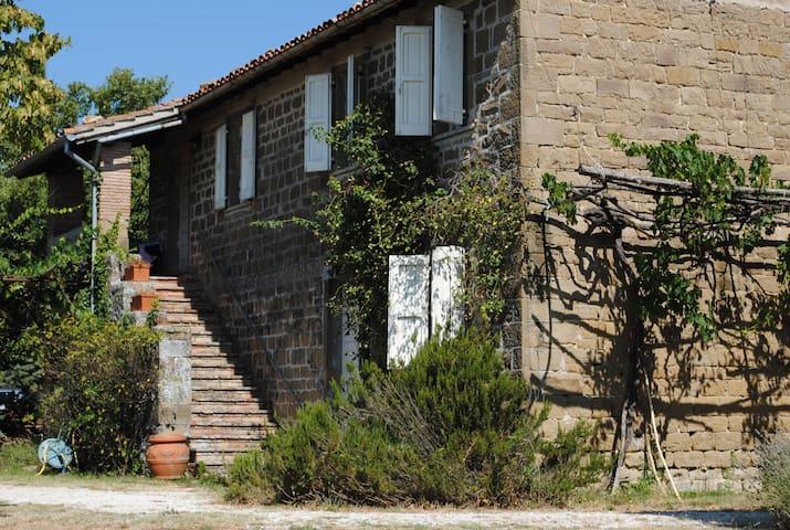 Santa Lucia casale con piscina - Gubbio - Rumah