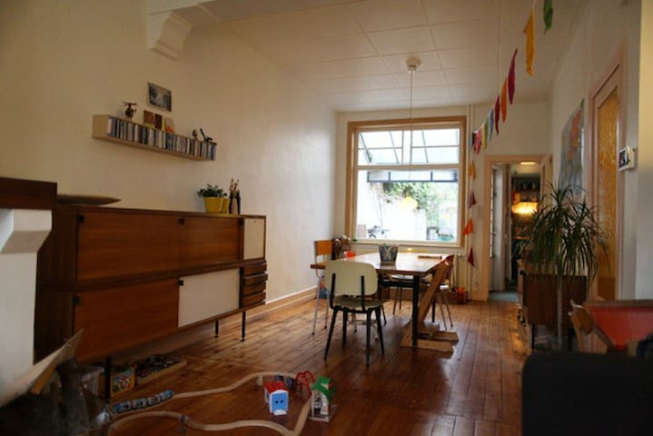 Beautiful house with large garden - Gent - Appartement