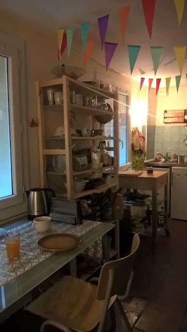Coté cuisine