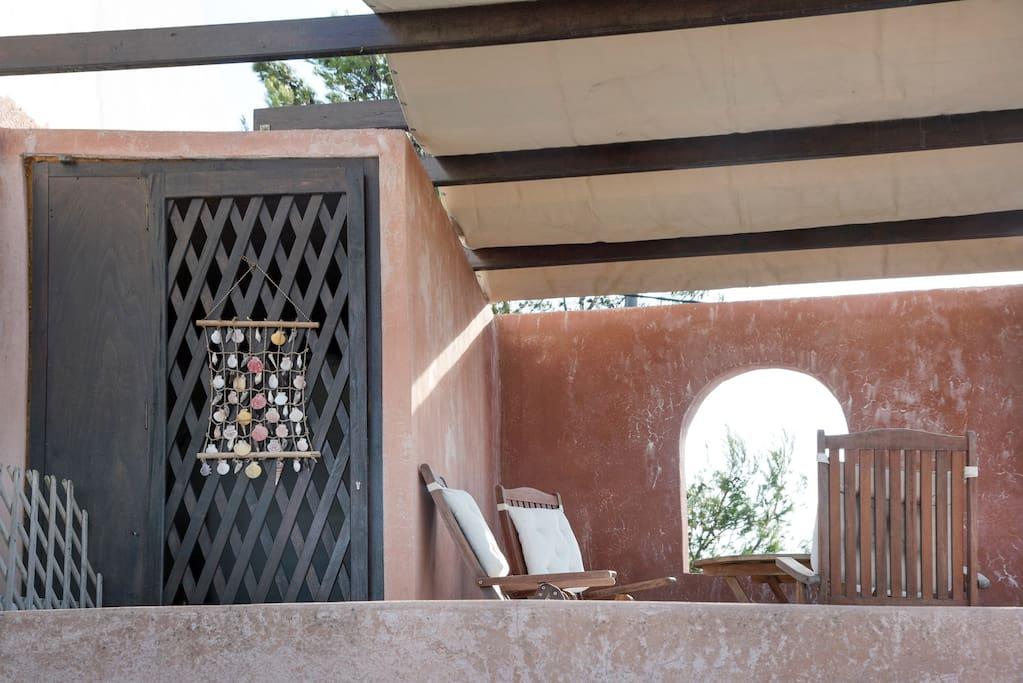 Our lovely veranda