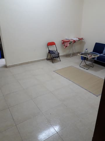 1 big hall in baniyas with 1 bed and 1 sofa bed