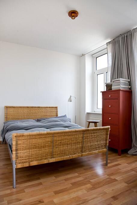 Schlafzimmer  (heute ohne Schrank)