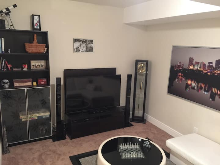 NEW! Executive Finished Basement 1B1B