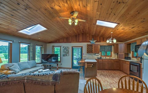 Private  N. House in Beautiful Naples NY