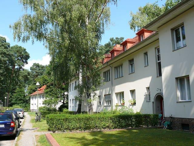 Sonnige Dachwohnung im Grünen - Berlin - Apartment