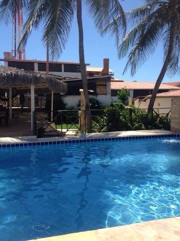 Lägenhet med pool och strandnära! - Majorlândia - อพาร์ทเมนท์