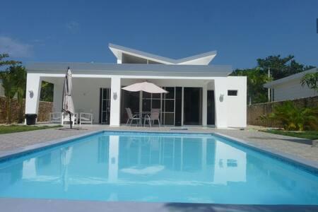 Villa Marguerita avec piscine  et jardin privé. - Cabarete