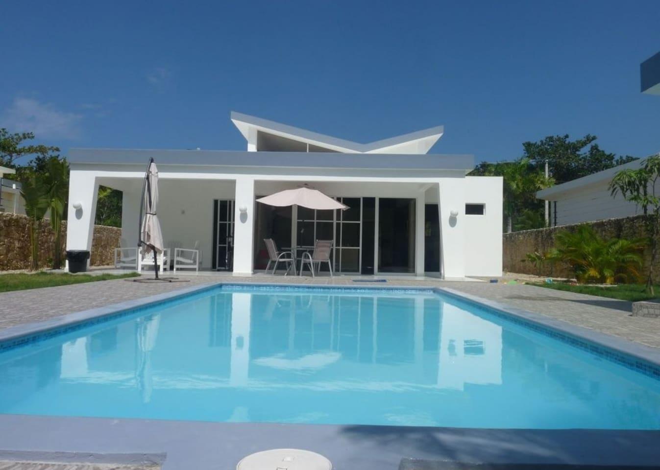 villa Marguerita avec piscine