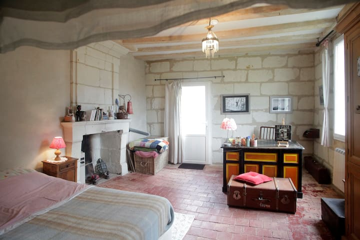 Belle chambre, Candes St Martin (37)