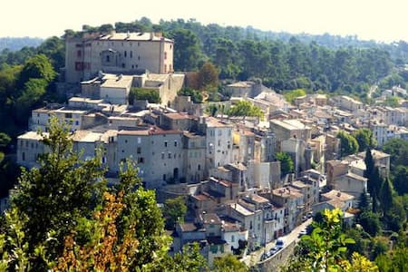Maison de caractère près du château de La Verdière - La Verdière - 公寓