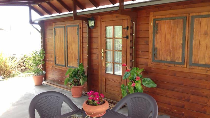 Cabaña en finca Ecológica - Los Llanos