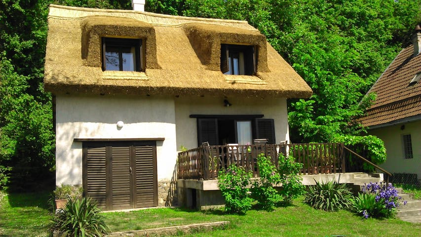 Peace & Beach - house in Tihany, Sajkod - Tihany - Ev