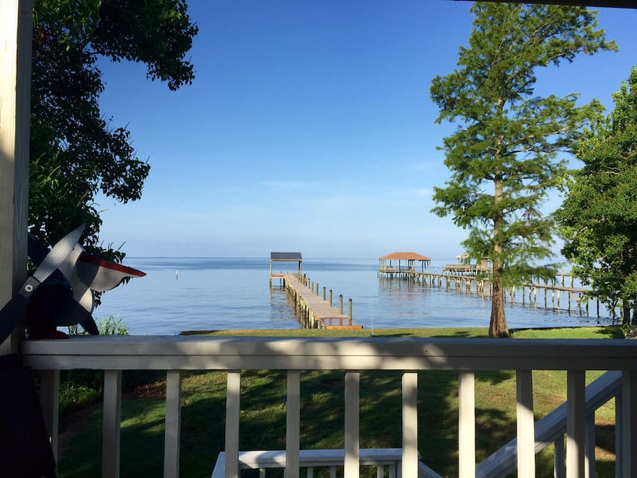 Incredible views of Mobile Bay