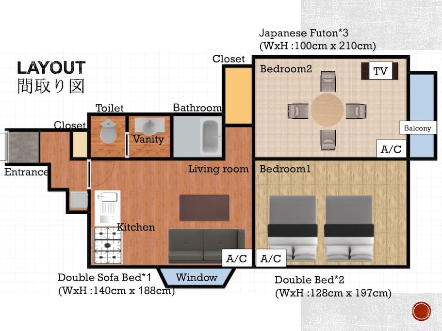 layout for your reference!