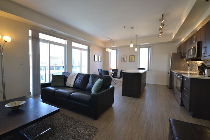 FURNISHED EXECUTIVE 1-BR CONDO - Winnipeg - Selveierleilighet