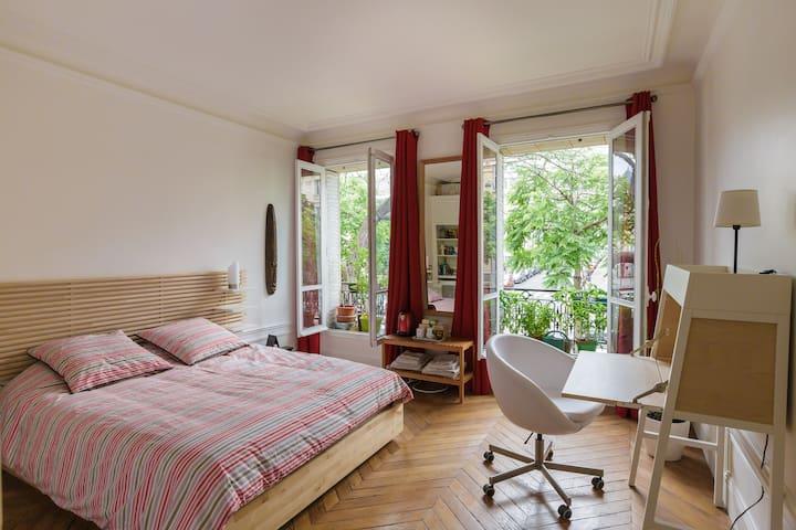 Chambre familiale dans le quartier latin appartements for Chambre quartier latin