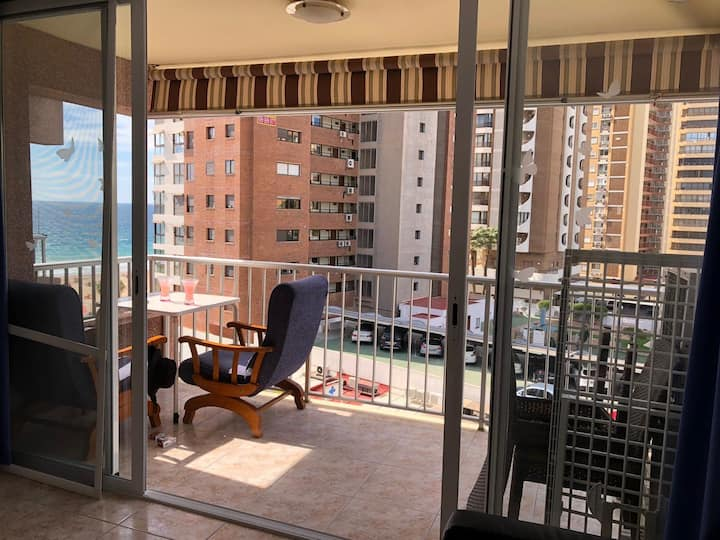 Viva Benidorm, sea views 1°L beach
