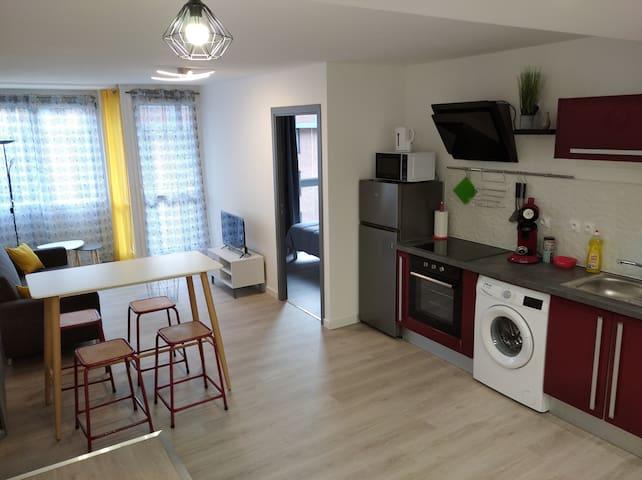 Appartement T4 -  Hyper centre de Roubaix