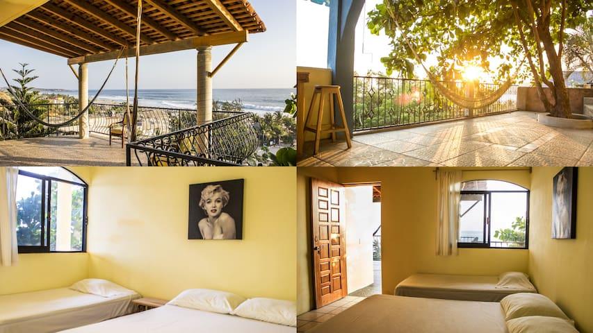 Casa con hermosa vista en Zicatela - Puerto Escondido - Huis