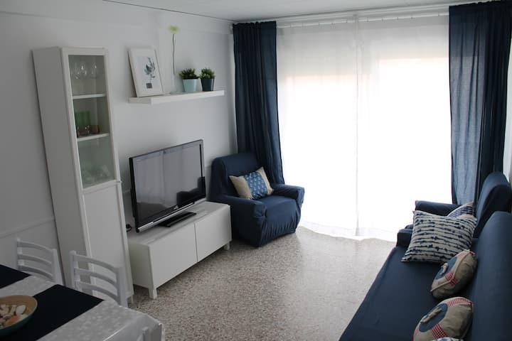 Acogedor apartamento frente a playa de Xeraco