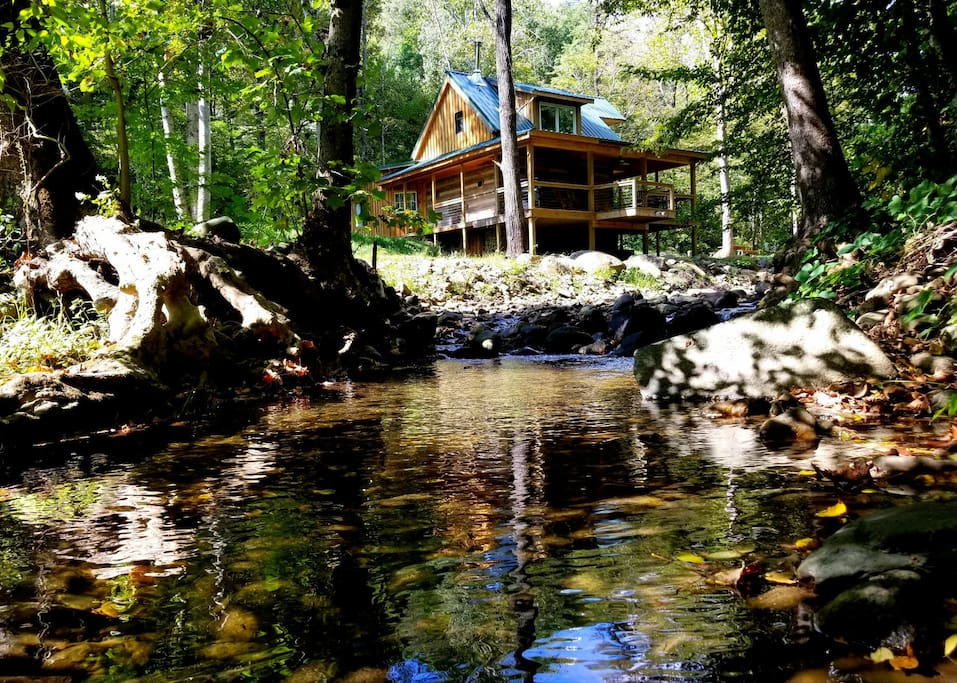 Log Cabin On The River Cabins For Rent In Stanardsville