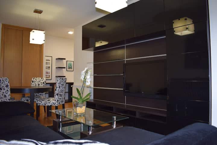 Apartamento centro Villagarcía.