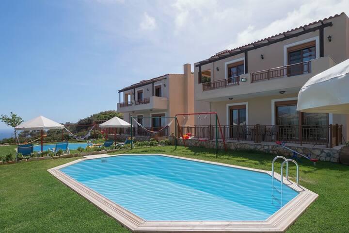Villa Nikos-Pool in Rethymno, Crete - Rethymno, Plakias - วิลล่า
