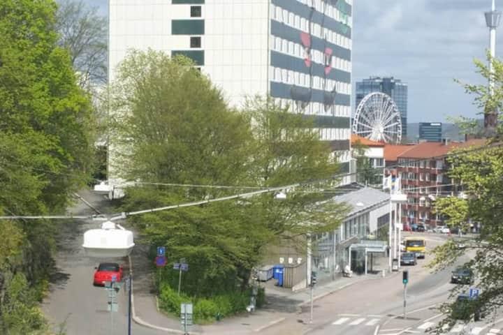 Fint 2:a Central Göteborg