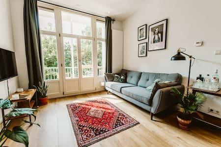 A beautiful designed apartment in Amsterdam
