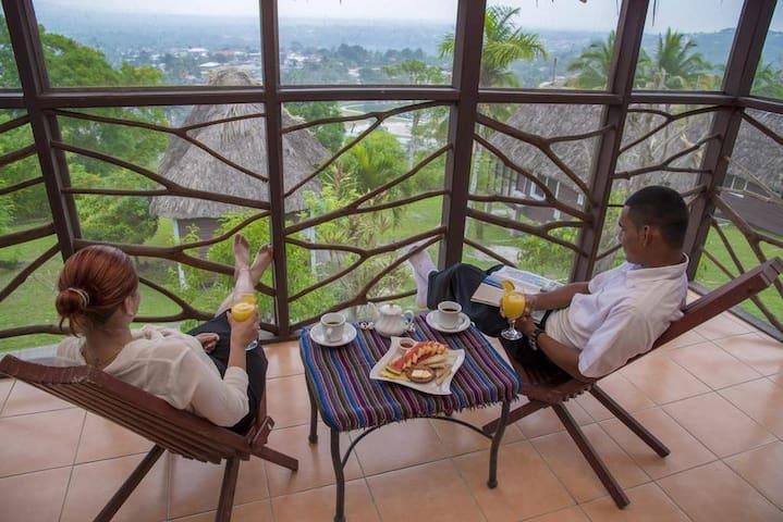 Stunning Panorama views 'standard cabanas' -CP