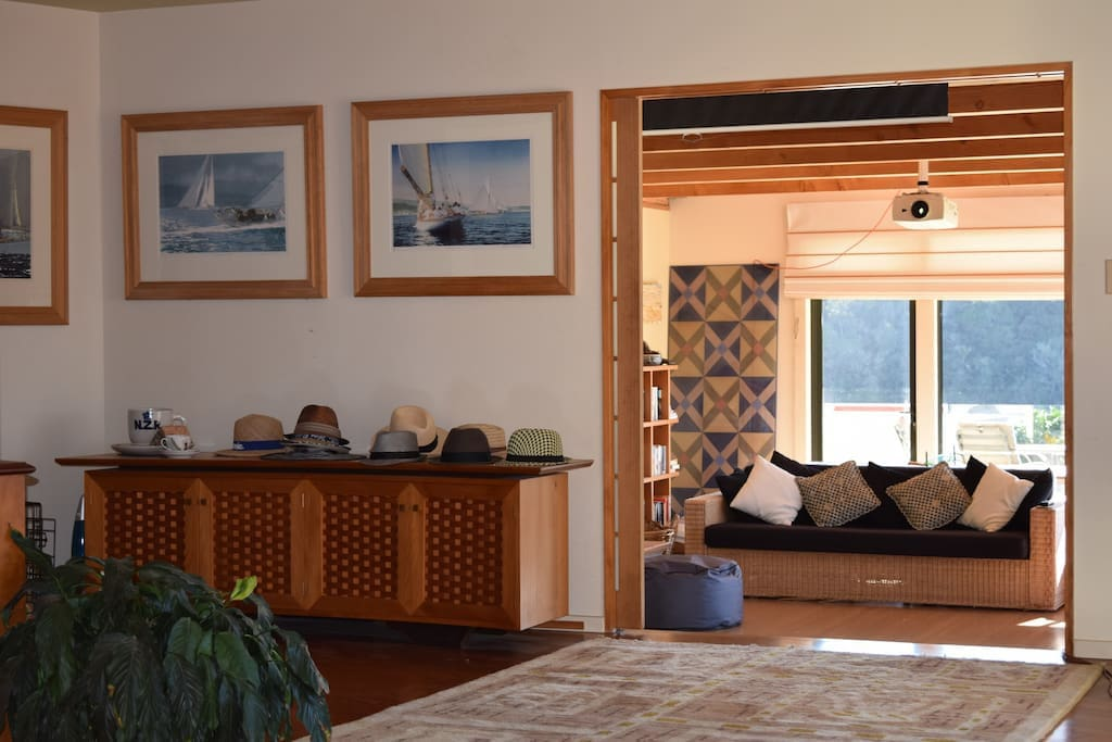Living room beckons