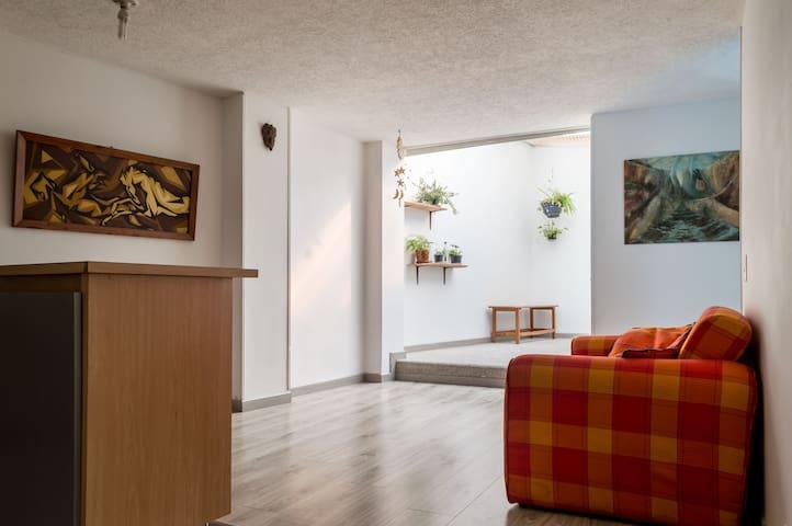 Cómodo & Acogedor en la Macarena - Bogotá Distrito Capital - Apartment
