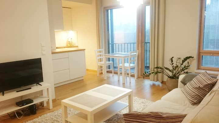 Brand new and cozy apartment in the city center