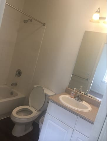 1 Room with Private Bathroom in a 3 Bedroom Apt