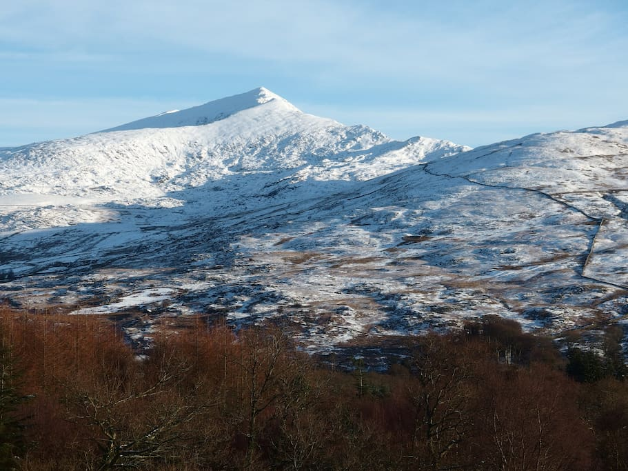 Is it called Snowdon because it's snow'd on?