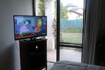 casa con piscina. wifi.direct tv.